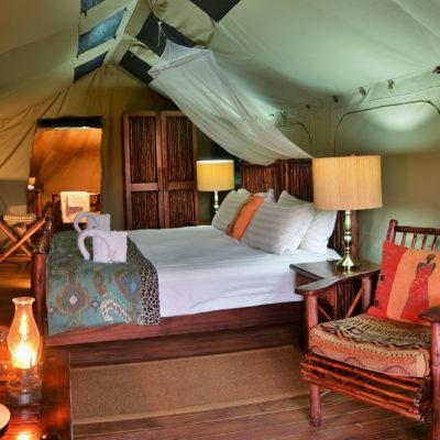 Kwafubesi Tented Camp room