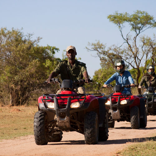 Kwafubesi Tented Camp 4x4 quad bike safari