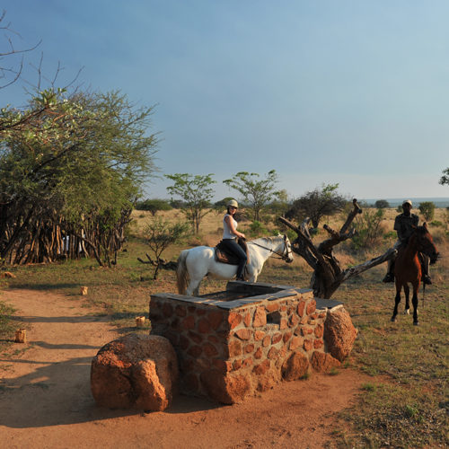 Kwafubesi Tented Safari Horseback safaris with guide