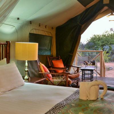 Kwafubesi Tented Safari Tented suite