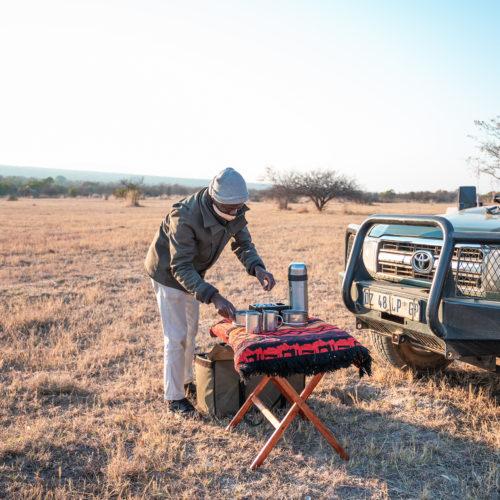 kwafubesi-safari-coffee-setup